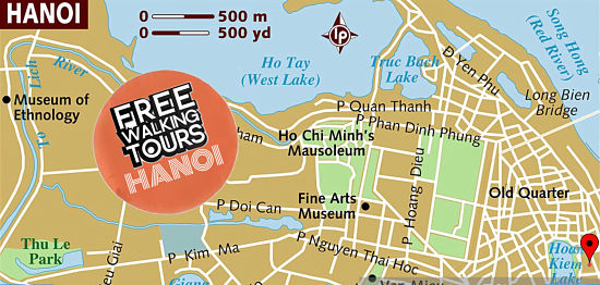 Free Walking Tours Hanoi - The best choice to find out about Hanoi.